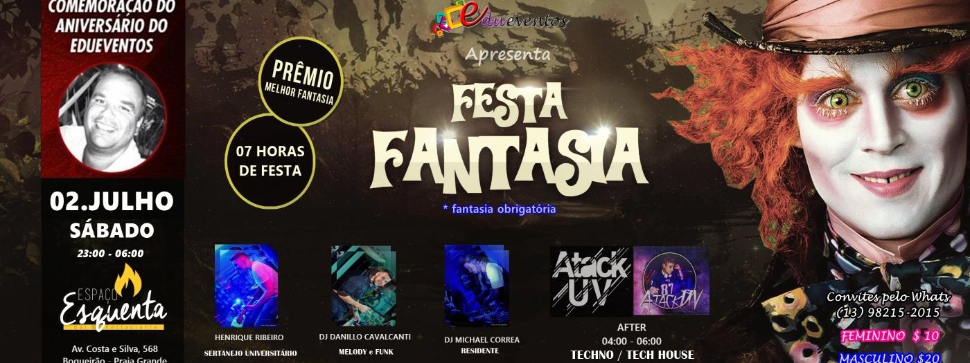 Festa A Fantasia Aniversário Edueventos Edueventos